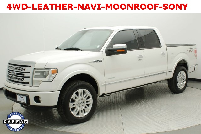 Pre-Owned 2014 Ford F-150 Platinum