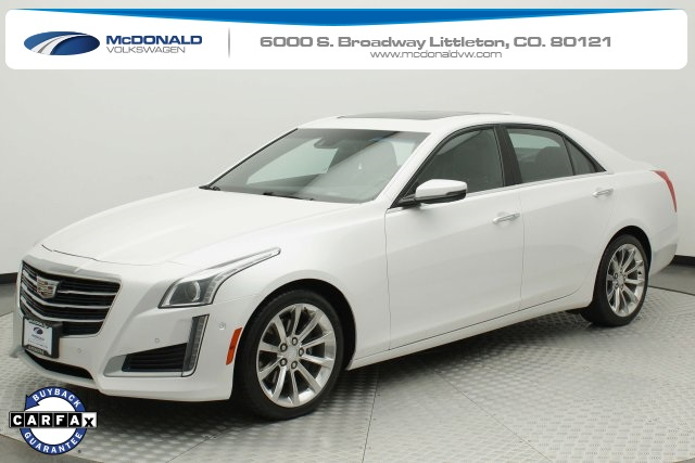 Pre-Owned 2016 Cadillac CTS 2.0L Turbo Premium