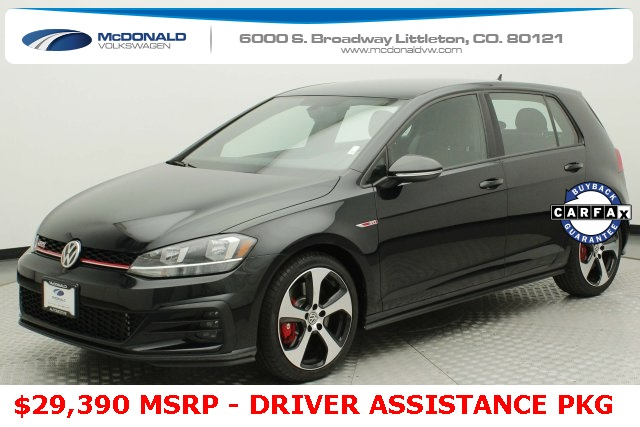 Pre-Owned 2019 Volkswagen Golf GTI 2.0T S