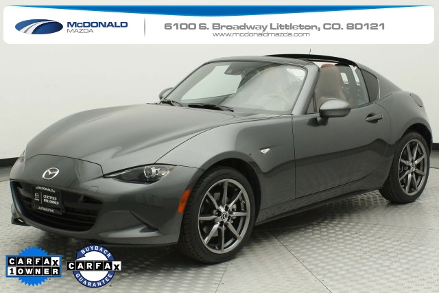 Pre-Owned 2018 Mazda Miata RF Grand Touring