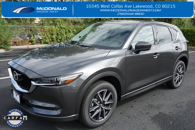 Pre-Owned 2017 Mazda CX-5 Grand Touring Price Reduced!