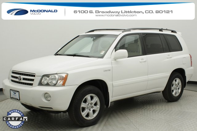 Pre-Owned 2002 Toyota Highlander Limited