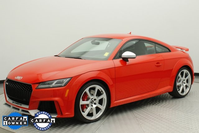 PreOwned Audi TT RS T D Coupe In Littleton APJ - 2018 audi tt
