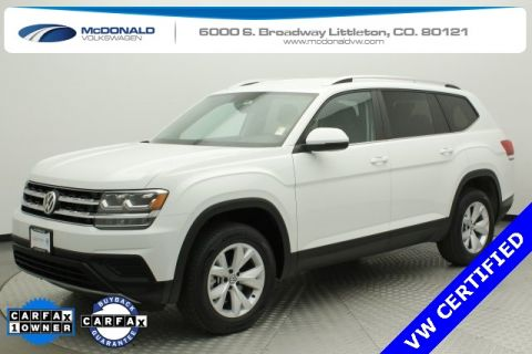 Certified Pre-Owned 2019 Volkswagen Atlas S