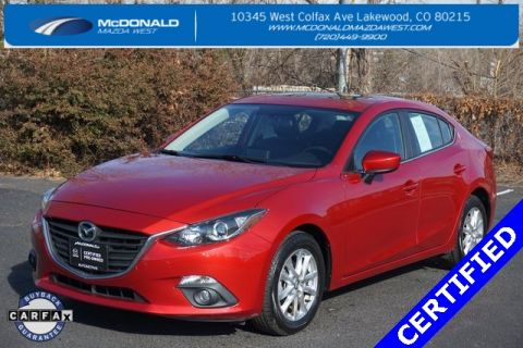 Pre-Owned 2015 Mazda3 i Grand Touring FWD 4D Sedan