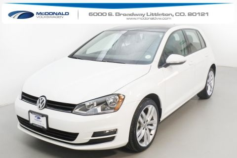 New 2017 Volkswagen Golf TSI SEL 4-Door FWD 4D Hatchback