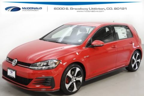 New 2018 Volkswagen Golf GTI 2.0T S FWD 4D Hatchback