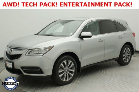 Pre-Owned 2015 Acura MDX 3.5L Technology Pkg w/Entertainment Pkg