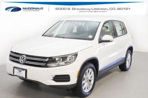 New 2017 Volkswagen Tiguan Limited Limited with 4MOTION®