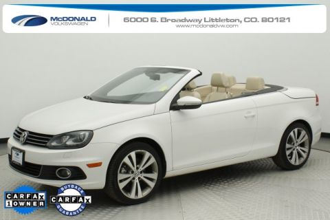 Pre-Owned 2013 Volkswagen Eos Lux FWD 2D Convertible