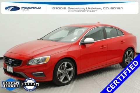 Pre-Owned 2015 Volvo S60 T6 R-Design Platinum AWD